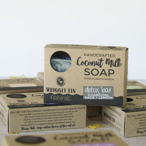 COCONUT MILK SOAP SET (Set of 5)