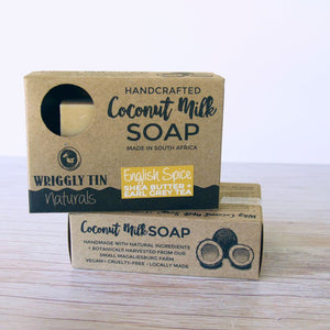 ENGLISH SPICE - Coconut Milk with Shea Butter & Earl Grey Tea