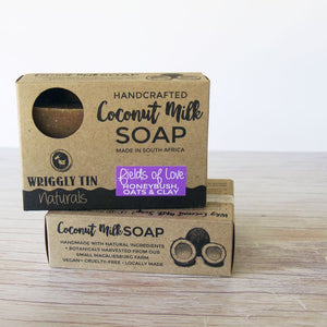 FIELDS OF LOVE - Coconut Milk with Honeybush Tea, Oats + Kaolin Clay