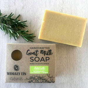 Goat Milk Soap with Avocado, Oatmeal + Shea