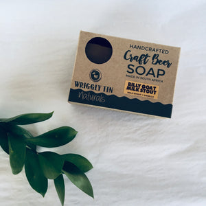 CRAFT BEER SOAP - Billy Goat Milk Stout - Goat Milk + Milk Stout