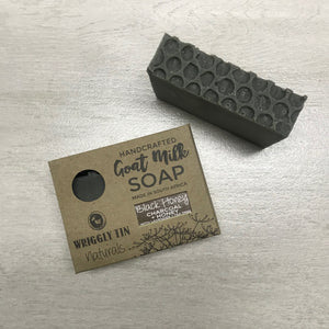 Goat Milk Soap with Charcoal + Honey