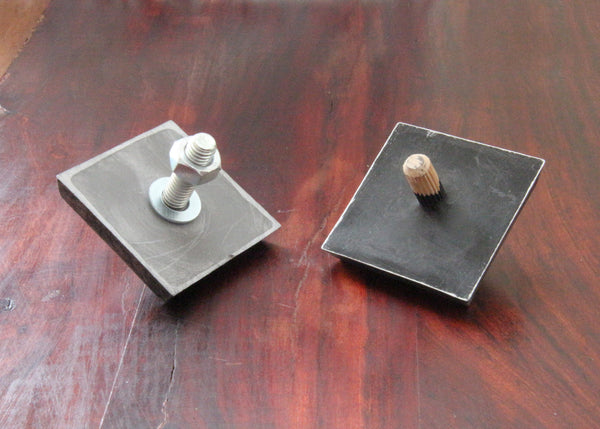How to install your decorative resin studs - Bolted and dowel