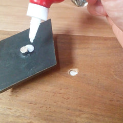 How to install your decorative resin studs - Bolt and dowel