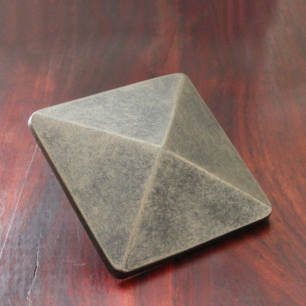 NW/105DD 75 mm square cap. Perfect addition to doors, furniture and kitchen cupboards. Decor 1000