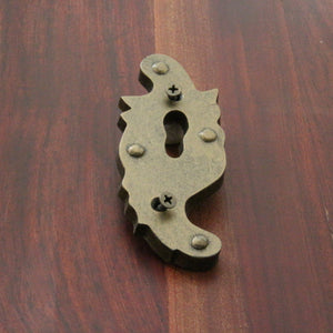 NW/AC15 antique lock plate