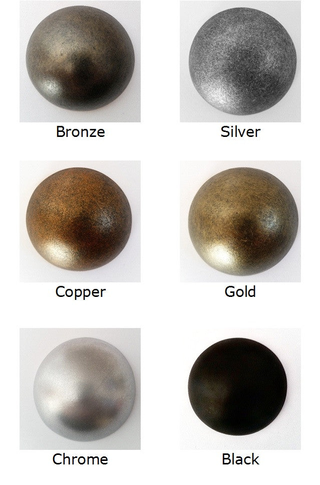 Do it yourself custom decor studs, available in bronze, silver, copper, gold and black. DIY