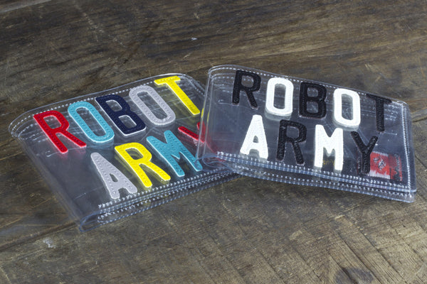 Robot Army Ghost Wallet