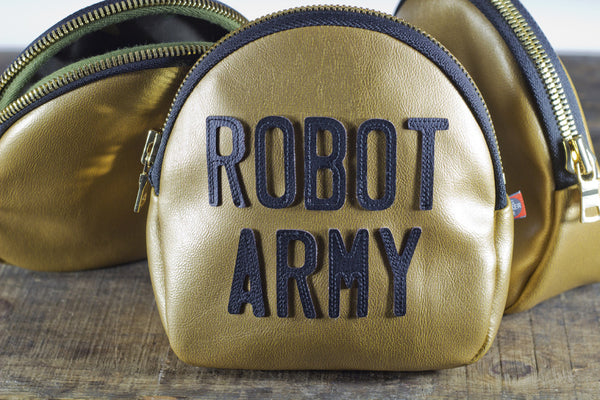 Robot Army Clutch (Gold)