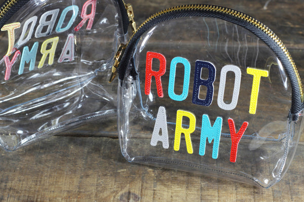 Robot Army Clutch (Clear)