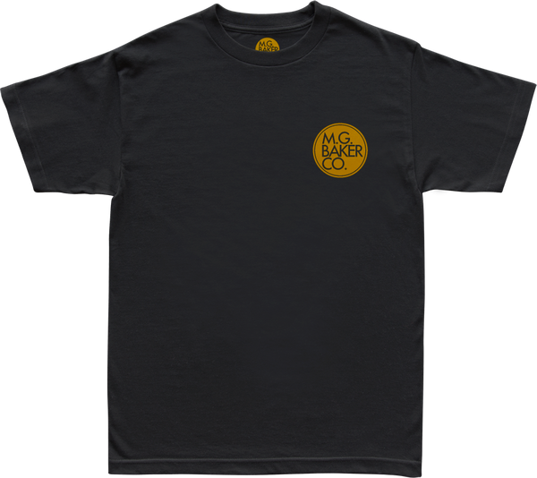 Mini Circle Logo Black Tee