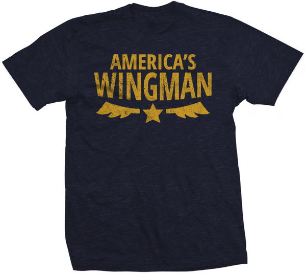 America's Wingman - Men's T-Shirt