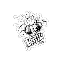 Winners Drink Sticker