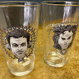 The Dick Show (and The Sean Show) 16oz Pint Glass Pair