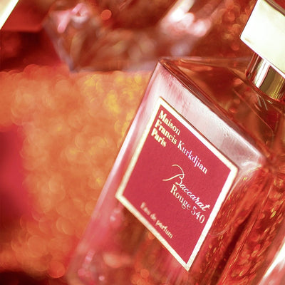 Intensively Red: Baccarat Rouge 540 Extrait de Parfum by Maison Francis Kurkdjian
