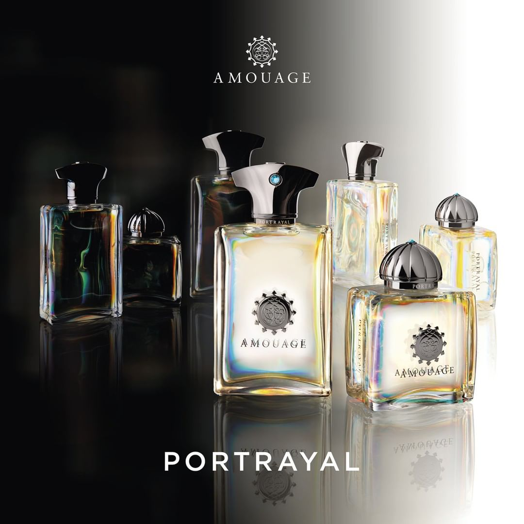 Amouage Portrayal: A New Woody Fragrance for Men and Women (2019)