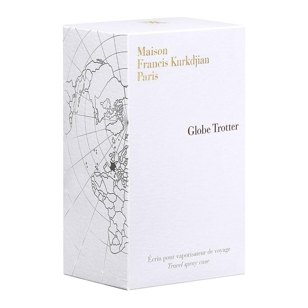 Globe Trotter Luxury Travel Spray Case - Zinc Edition