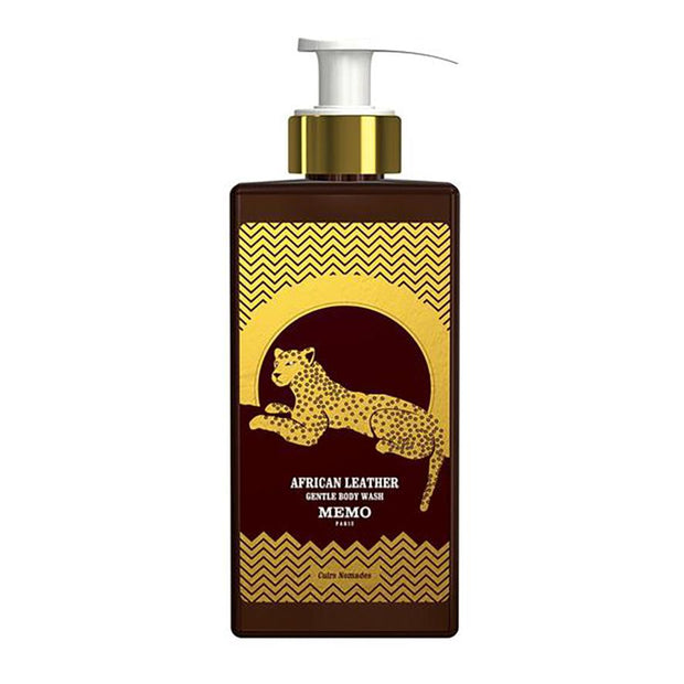African Leather Gentle Body Wash, Memo Paris, Agoratopia