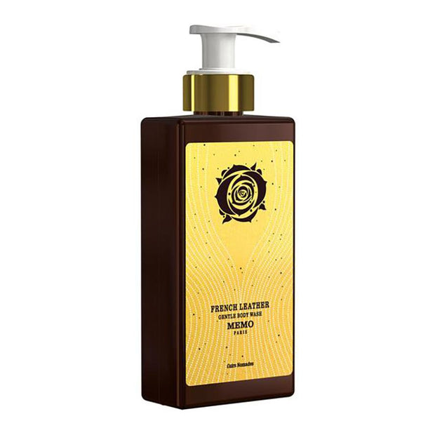 French Leather Gentle Body Wash, Memo Paris, Agoratopia
