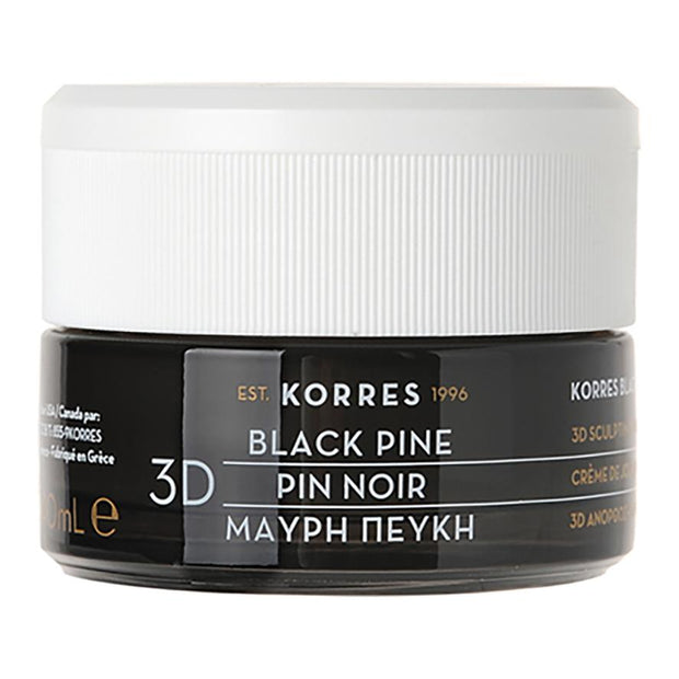 Black Pine 3D Sculpting, Firming & Lifting Day Cream for Normal/Combination Skin, Korres, Agoratopia