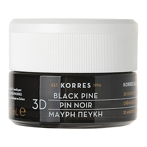Black Pine 3D Scuplting, Firming And Lifting Night Cream, Korres, Agoratopia
