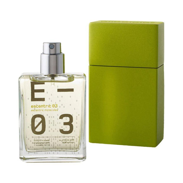 Escentric 03 Eau de Toilette Travel Spray with Case, Escentric Molecules, Agoratopia