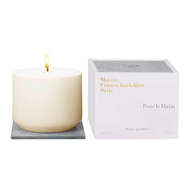 Pour Le Matin Scented Candle Maison Francis Kurkdjian Free Shipping