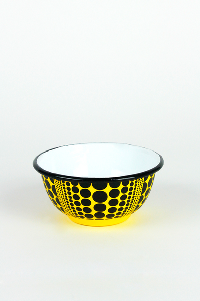 Pumpkin Enamel Rice Bowl