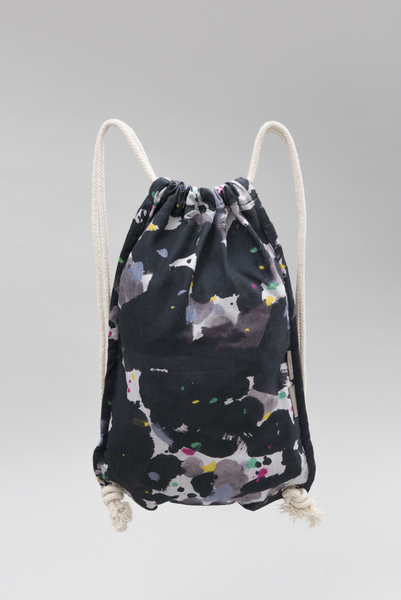 Exhibition Drawstring Bag - Moods High and Low by Wu Guanzhong