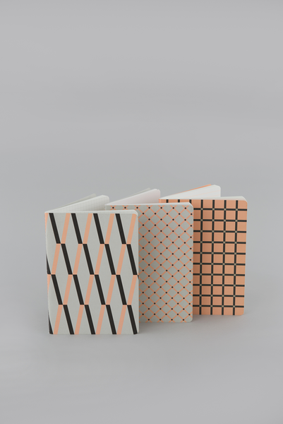 Signature Print Patterned Notebook