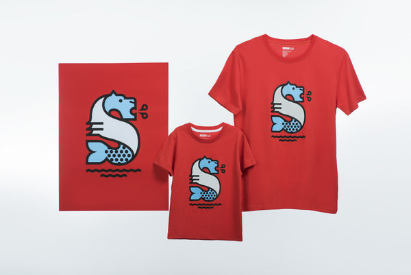 Hey Studio Merlion T-shirt (Kids)