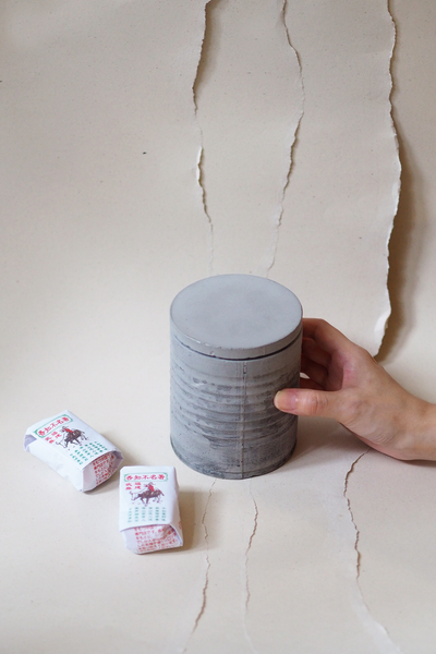 Awakenings: Concrete Tea Tin