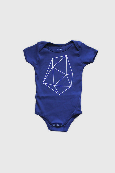 Belly Sesame - Kai Blue Onesie
