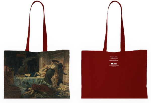 CENTURY OF LIGHT (BETWEEN WORLDS) CLEOPATRA TOTE BAG
