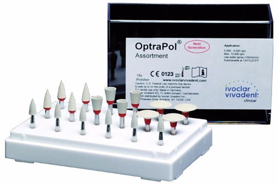 Ivoclar Vivadent  OptraPol Next Generation Assortment one step polishing system - eLynn Medical