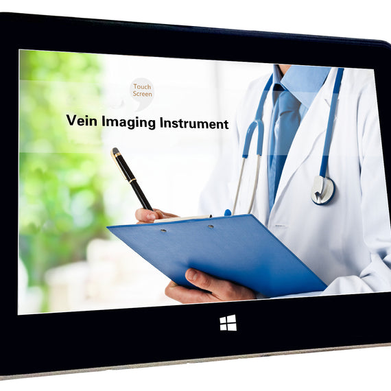 LCD imaging Vein Finder Viewer Registered in CE, Vein Locator Detector, Transilluminator Visualization Lights for Nurses, Imaging of Subcutaneous Veins Spider Veins, Facial Veins for IV Phlebotomy - eLynn Medical