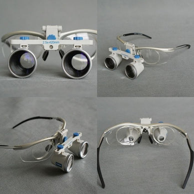 Zumax Titanium Frame Dental Binocular Loupes Surgical medical Magnification - eLynn Medical