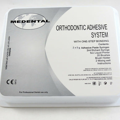 Medental Orthodontic Adhesive System Kit Self-cure