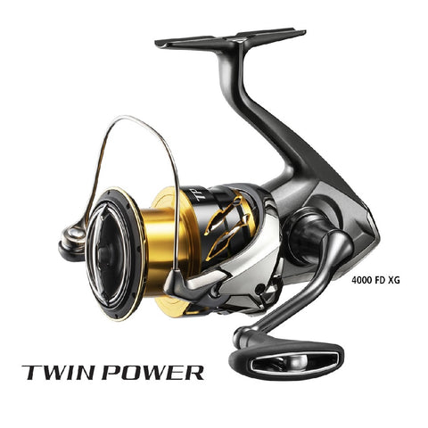 2020 SHIMANO TWIN POWER FD 2500 SPIN REEL