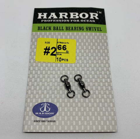 HARBOR BALL BEARING SWIVEL SIZE 1 30LB 12PCS