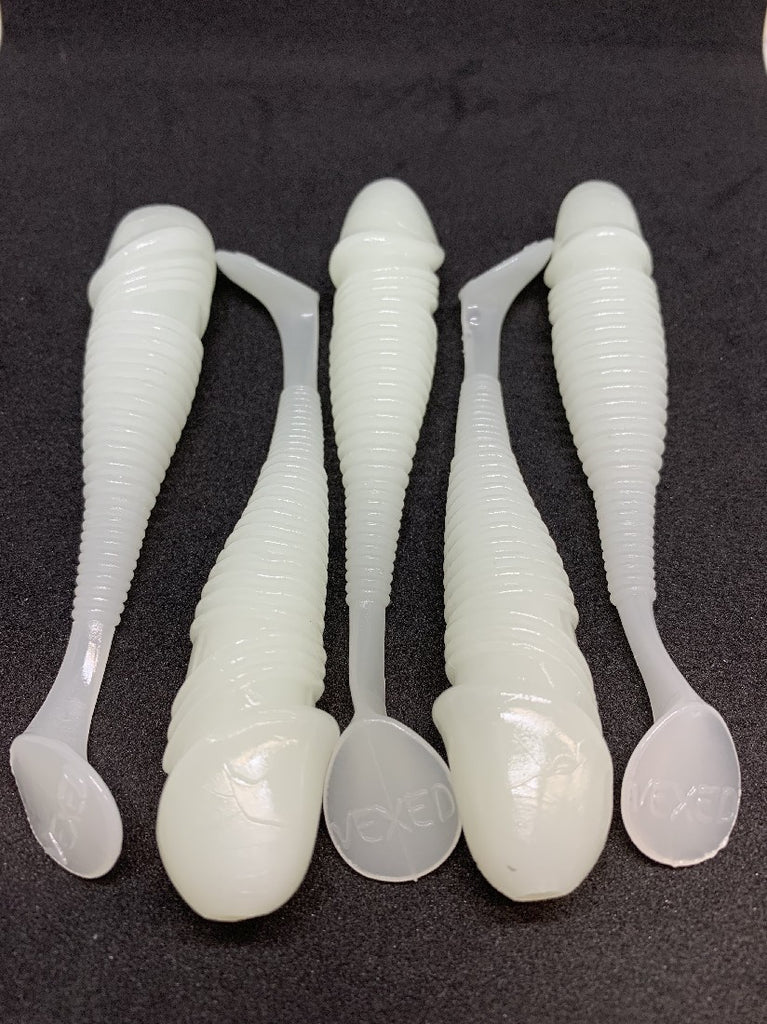 "VEXED iDICT 5"" GLOW WHITE UV 5PCS"
