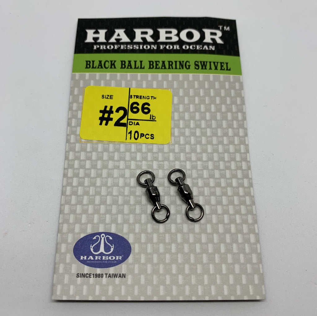 HARBOR BALL BEARING SWIVEL SIZE 5 120LB 8PCS