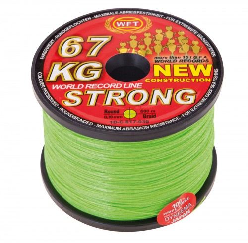 WFT STRONG BRAID 600M - 39KG 0.25 MM