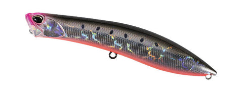Realis Pencil Popper 110 SW Rigged - Sardine Noir RB