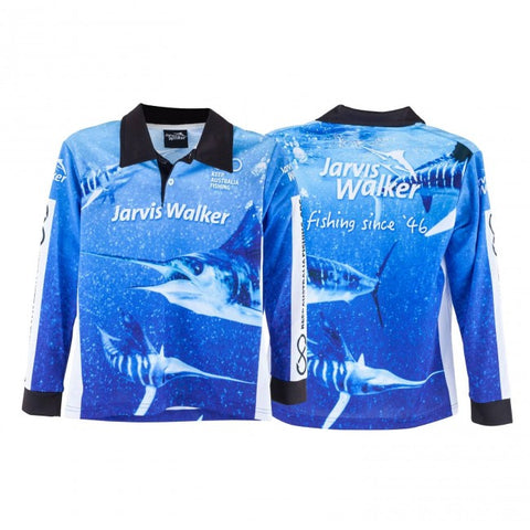 JARVIS WALKER MARLIN SUBLIMATED SHIRT SIZE 12