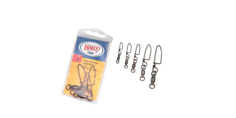 HALCO BALL BEARING SWIVEL WITH COASTLOCK SNAP 5 -3PCS