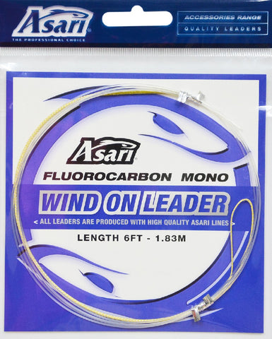 ASARI WIND ON LEADER 1.83M - 40LB