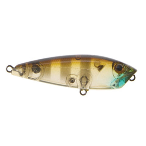 HARDZ ATOMIC POP50 FLOATING POPPER  -GHOST GILL BROWN