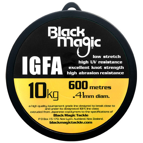 BLACK MAGIC IGFA 600M - 15KG