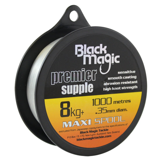 BLACK MAGIC PREMIER SUPPLE LINE 1000M - 8KG
